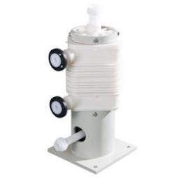 External heat exchanger by bath circulation